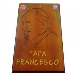 "Quadro ""Papa Francesco"" Cod.1"
