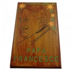"Quadro ""Papa Francesco"" Cod.2"