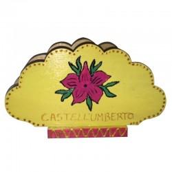 """Portatovaglioli  Nuvola """"Castell'Umberto"""""""