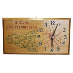 "Orologio da parete ""Sicilia/Trinacria"""