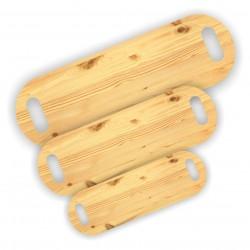 Tagliere Ovale di Pino doppio manico