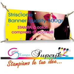 Banner in PVC 100x300