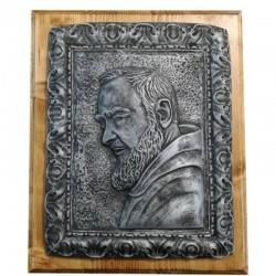 """Quadretto """"San Pio"""" colore Argento"""