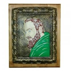 "Quadretto ""San Pio"" Verde"